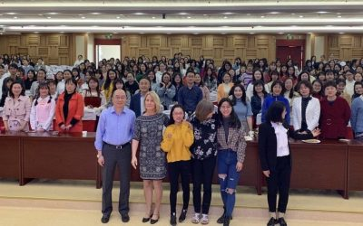 CEE link up with Hubei Teacher Training College